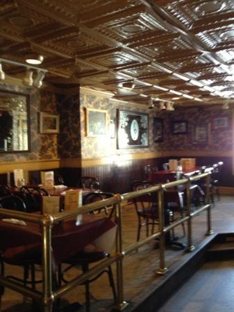 Basin Street: The rear dining room