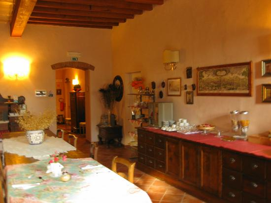 De' Benci Bed and Breakfast in Firenze : Shared dining area where you will have breakfast/coffee