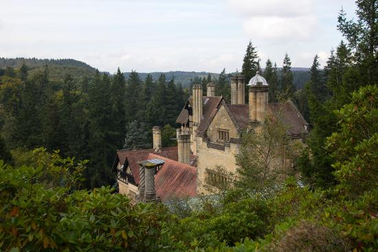 The House From Forest Path Picture Of Cragside House And