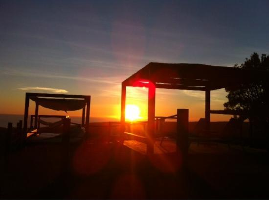 Sheraton Gran Canaria Salobre Golf Resort: Sonnenuntergang im Salobre