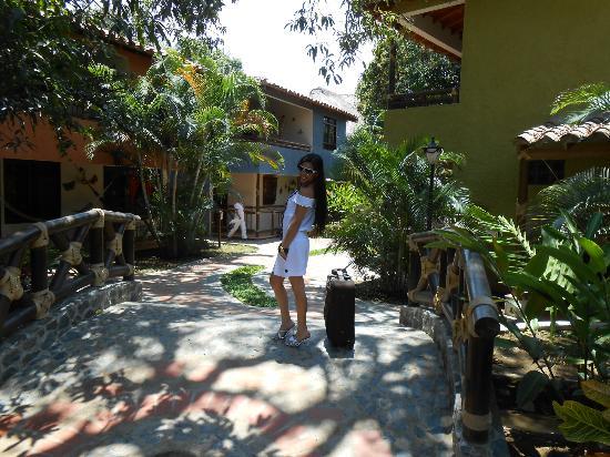 Hosteria Tonusco Campestre: entrada al hotel