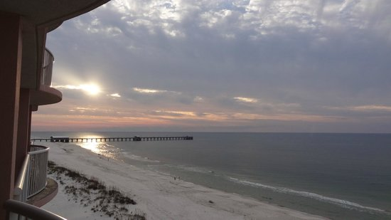Gulf Shores Beach and State Park Pier @ Sunrise