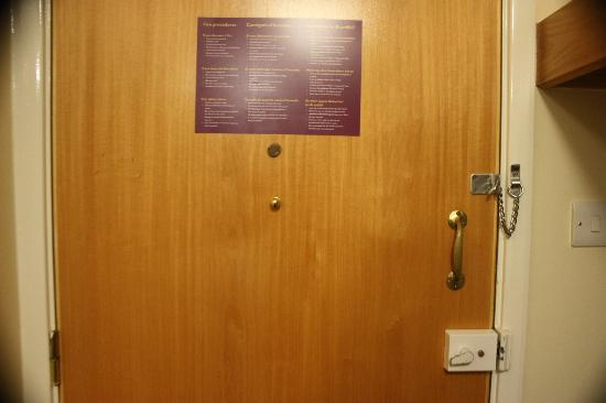 Premier Inn Hayle: Door
