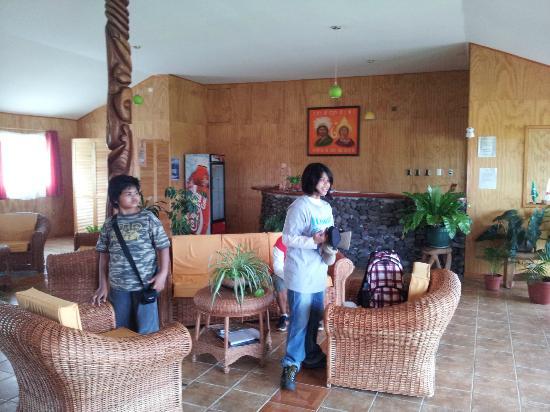 Cabanas Rapa Nui Orito : reception