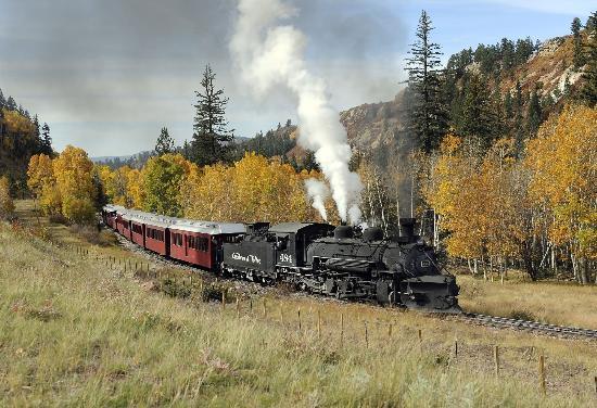 Branding Iron Motel: Steam Engine train