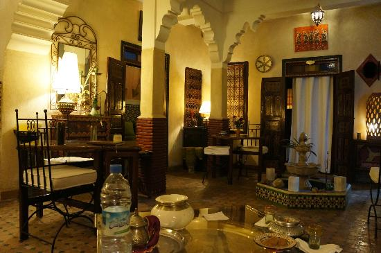 Riad Andalla : The lobby