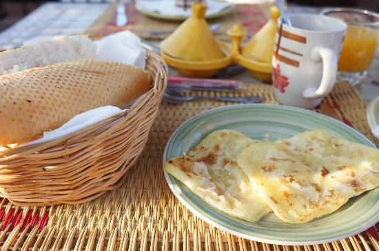 Riad Andalla : breakfast