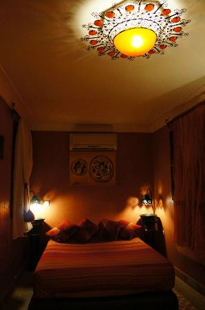 Riad Andalla: The nice room