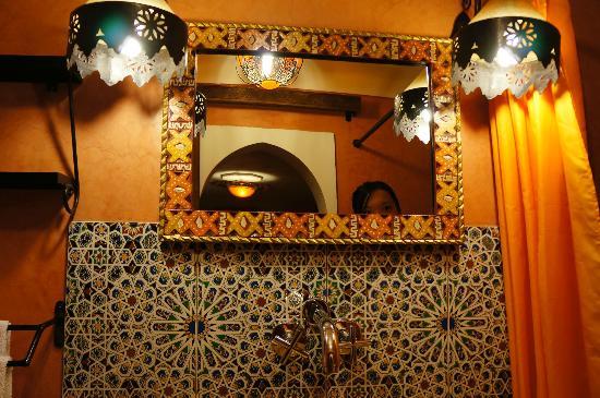 Riad Andalla: toilet