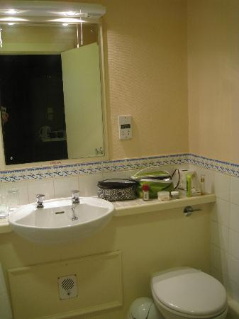 Bathroom of my room at The Grand Hotel, Torquay