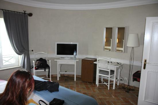M'AR De AR Muralhas: Bedroom area