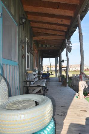 Shack Up Inn: Porch