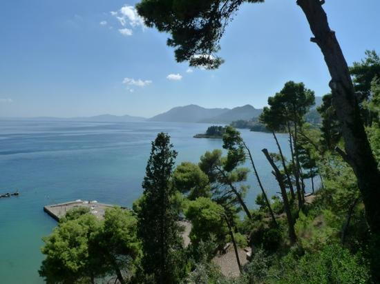 Corfu Holiday Palace: view from our room, wonderful