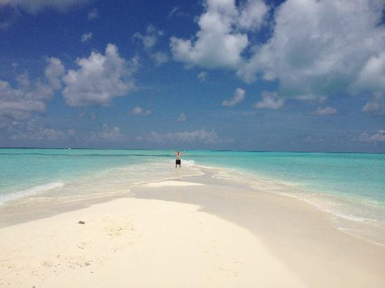 คุรามาธิ ไอแลนด์ รีสอร์ท: Sandbank