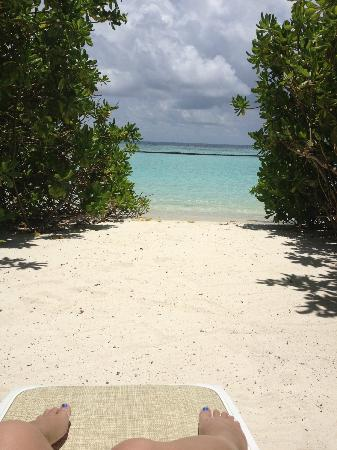Kuramathi Island Resort: View from room 346