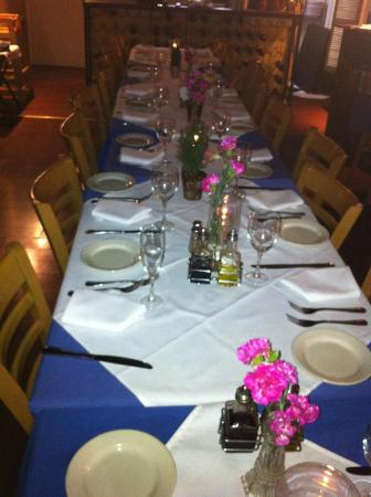Ludo's Italian Restaurant : Good for private Parties