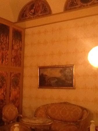 Hotel La Rosetta: corridoio dell'Hotel
