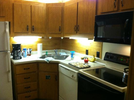 The Campsites at Disney's Fort Wilderness Resort: Fully Stocked Kitchen