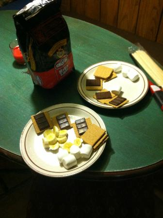 The Campsites at Disney's Fort Wilderness Resort: Our S'mores!