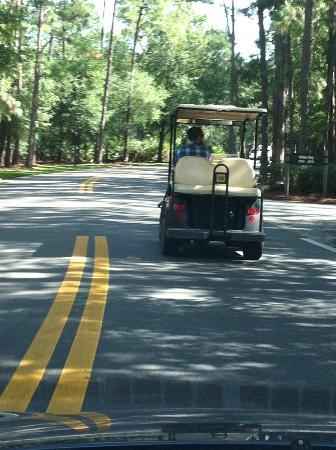 The Campsites at Disney's Fort Wilderness Resort: Golf Cart