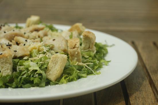 Vino & Olivo: Ensalada Cesar // Cesar's Salad