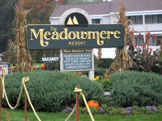 Meadowmere Resort: Entrance to Resort