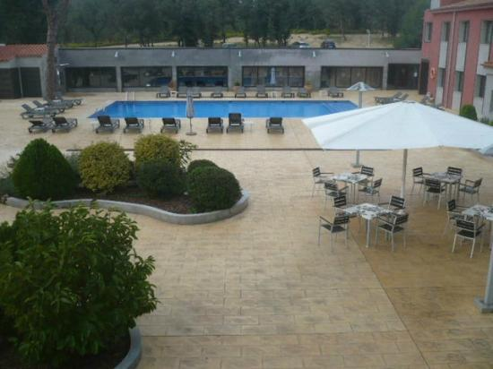 Pool available picture of salles hotel aeroport girona riudellots de la selva tripadvisor Girona hotels with swimming pool