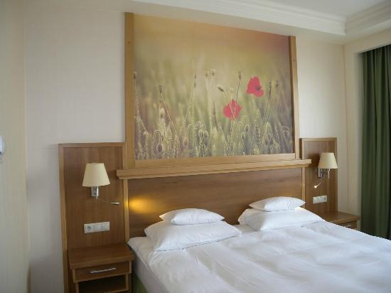 Hotel Sonnenhof: Fairly comfortable beds