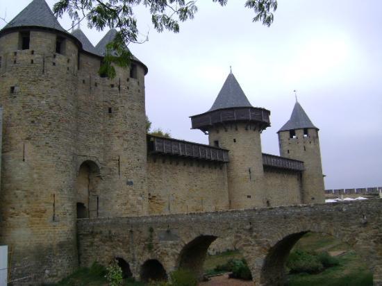 CHÂTEAU ET REMPARTS DE LA CITÉ DE CARCASSONNE : El Castillo de Carcassonne, Carcassone, Francia.