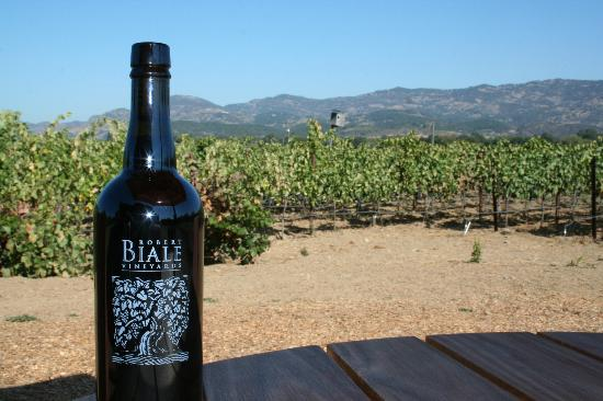 Robert Biale Vineyards: Didn't I do a great job? :)