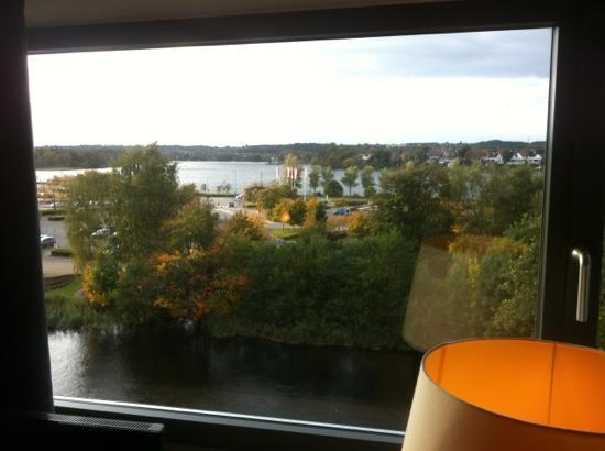 Radisson Blu Papirfabrikken Hotel, Silkeborg: view from room