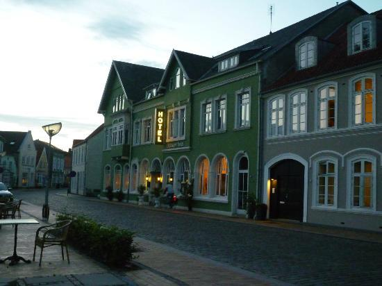 Toender, Denmark: Front of the hotel