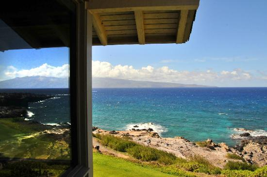 The Kapalua Villas, Maui: view from balcony