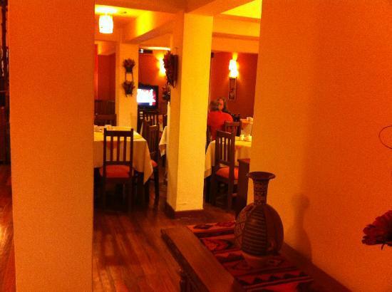 El Virrey Boutique Hostal: Dining
