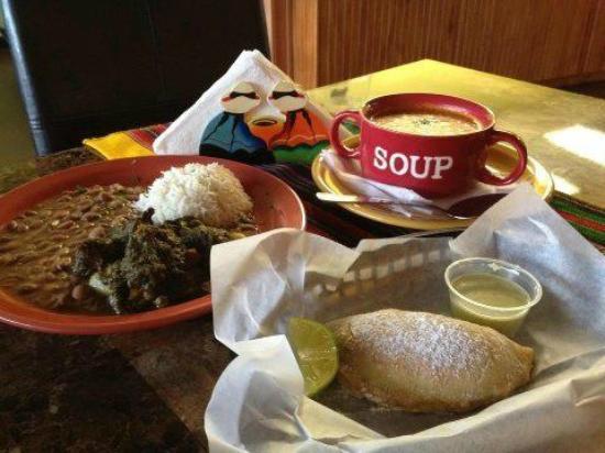 Chuyos Peruvian Fusion Deli : Full menu with empanada and soup!