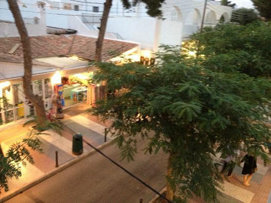 Hostal de la Caravel-la: View From Balcony