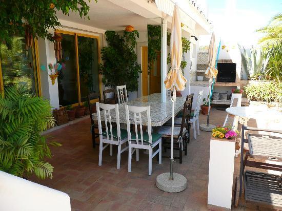 Casa Amarela : Breafast and evening dinner table