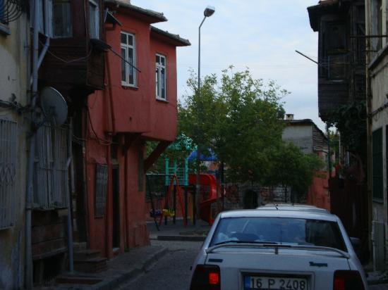 Sirma Sultan Hotel Istanbul: De straat