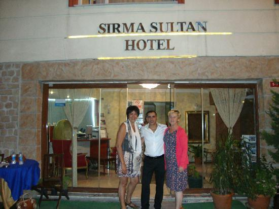 Sirma Sultan Hotel Istanbul : Met Roberto op de foto