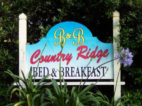 Country Ridge Bed & Breakfast: Your destination