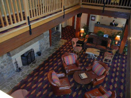The Wolfeboro Inn : Lobby area