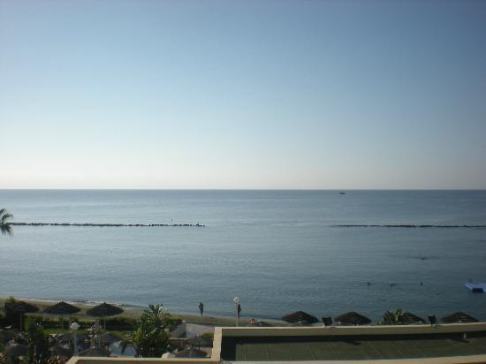 Atlantica Miramare Beach: view from hotel beach front