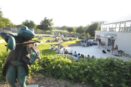 Concert at the Amarillo Botanical Gardens