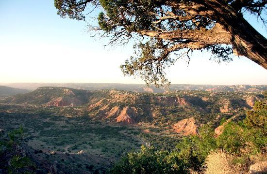 Amarillo, TX: View across Palo Duro Canyon State Park