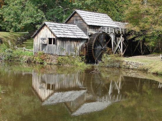 Mabry Mill: The Mill