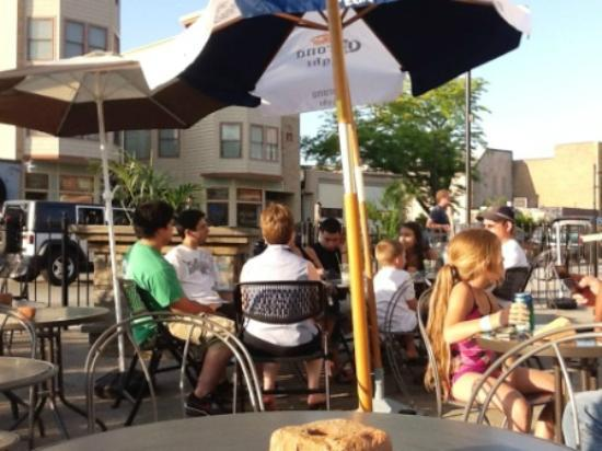 Brix Corner Oven: outdoor seating only