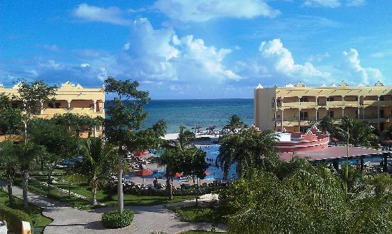 The Royal Haciendas, All Inclusive, All Suites Resort: View from our villa