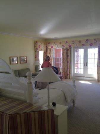 Inn at Stonington: only half the room!