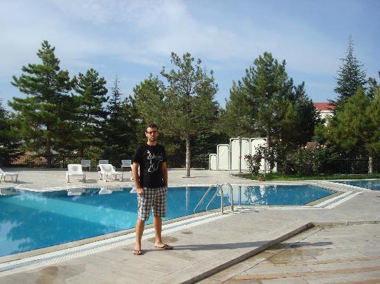 Mustafa Hotel: Piscina del Hotel, tal vez lo mejor...