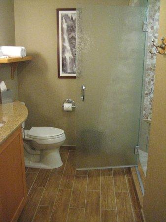 High Peaks Resort: Bathroom